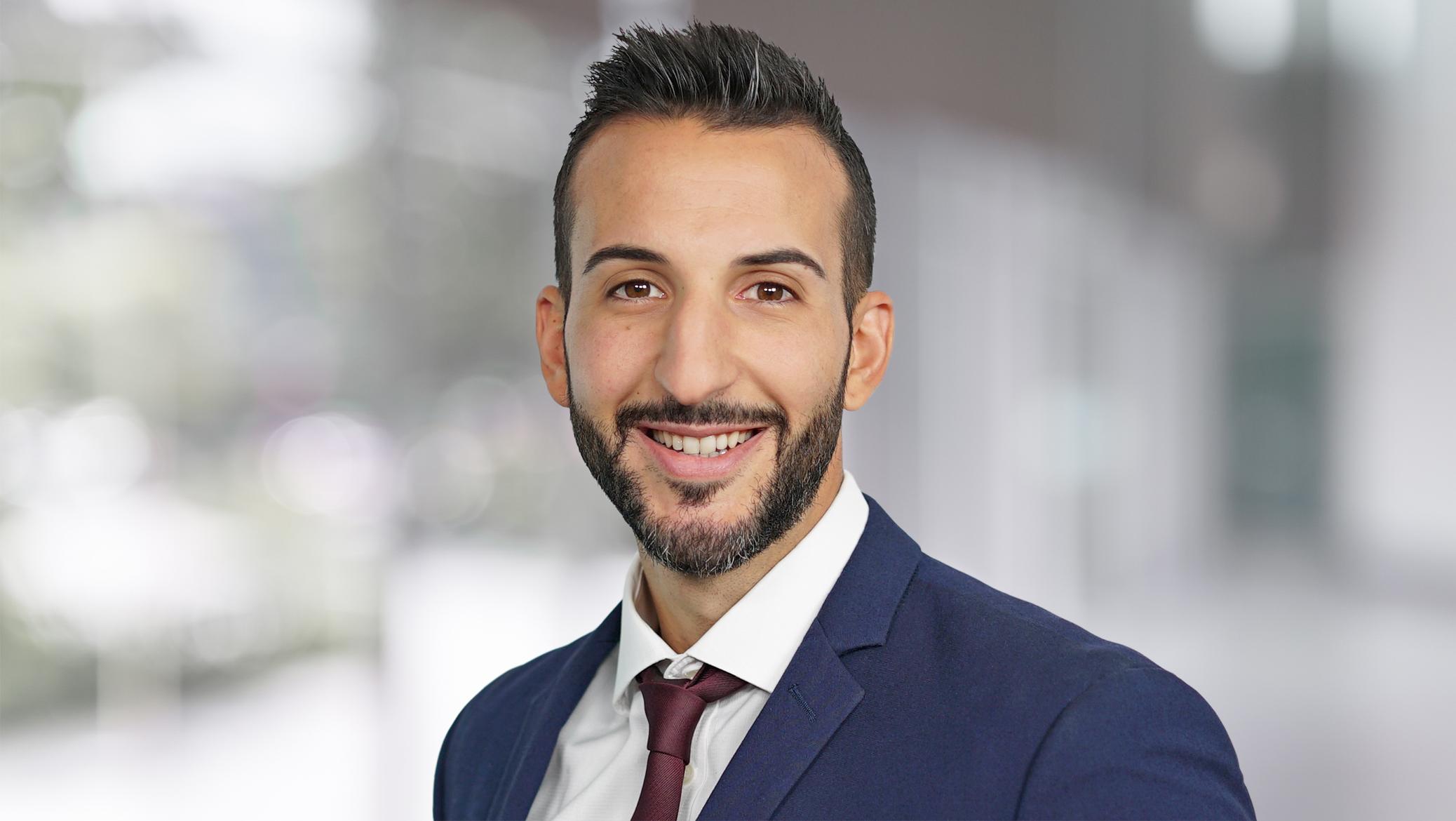 Headshot photo of Gabe Daoud