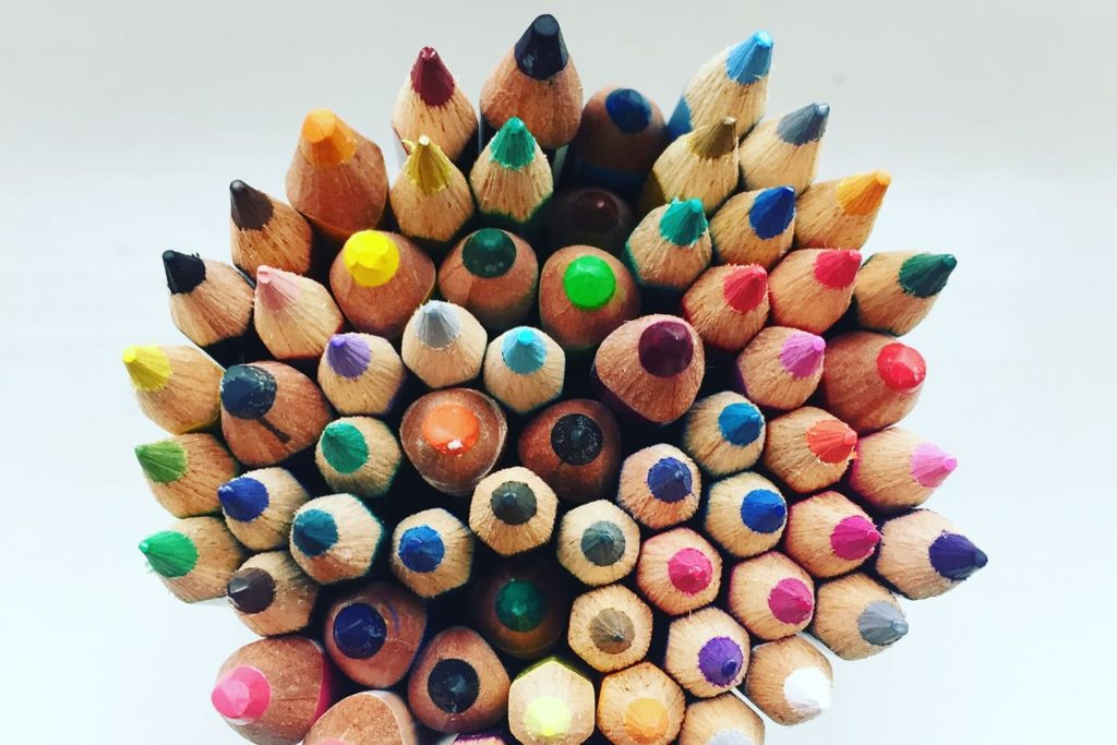 Art Supplies Colored Pencils