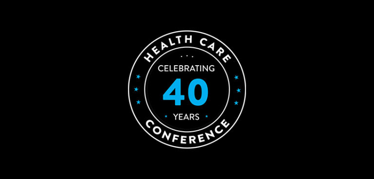 40th Health Care Conference Banner